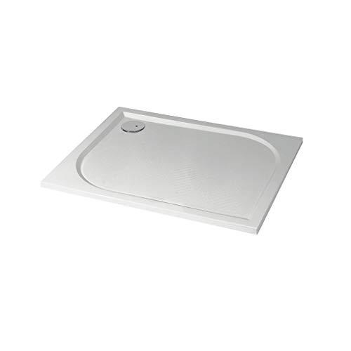 Ondé – Plato de ducha rectangular 80 x 140 cm, de hormigón...