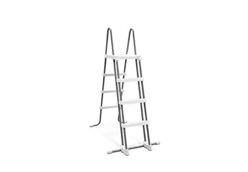 Escalera de seguridad Intex 28073 (4 peldaños) para paredes de 122 cm...