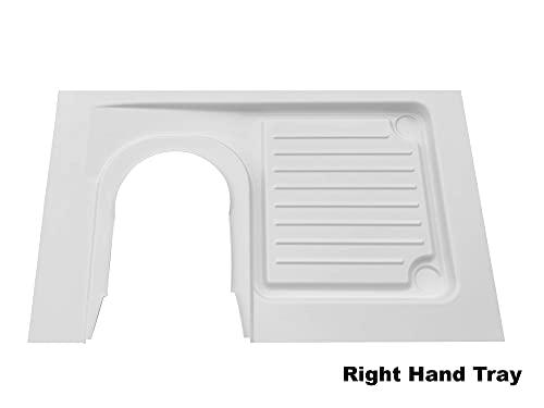 C223 C224 - Bandeja de ducha para autocaravanas (para inodoro de...