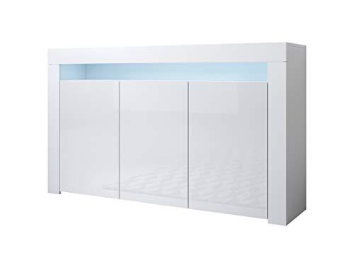 Muebles Bonitos | Aparador Moderno Aker | Ancho 155 x Alto 91,5 x...