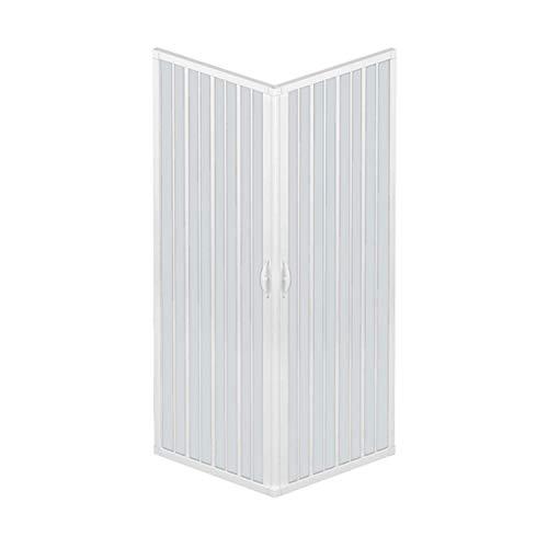 RL Mampara de Ducha 80x100 CM Rectangular de PVC Mod. Acquario con...