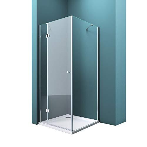 Mai & Mai Mampara de ducha esquinera 70x80x190cm Cabina de ducha de...