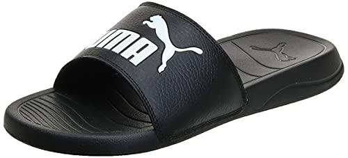 PUMA Popcat 20, Zapatos de Playa y Piscina Unisex Adulto, Black White,...