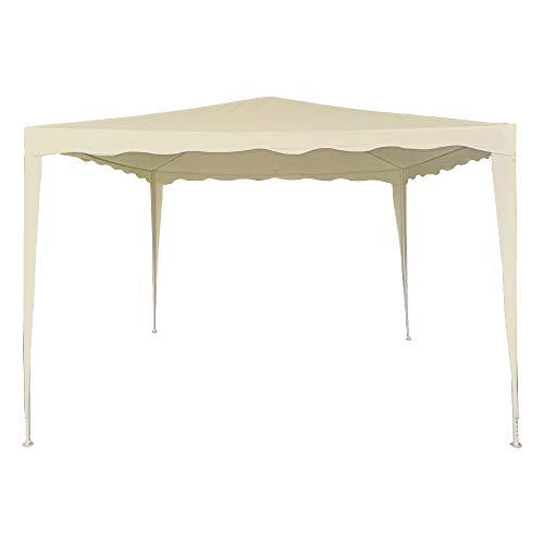 AKTIVE 61023 - Cenador crema 300x300x240 AKTIVE Garden