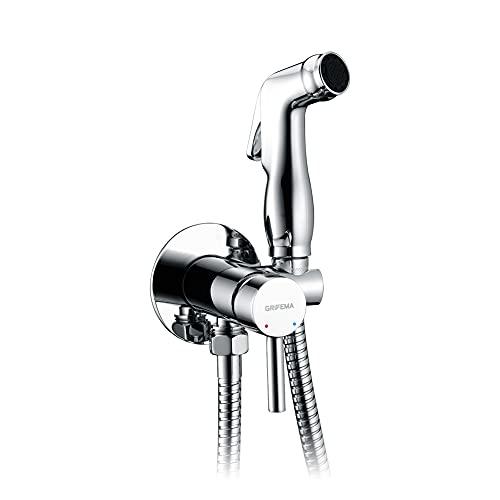 GRIFEMA Irismart - Monomando empotrar para bidé WC, agua caliente y...