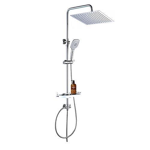 JOHO Conjunto de ducha Sistema de ducha de lluvia Columna de ducha de...