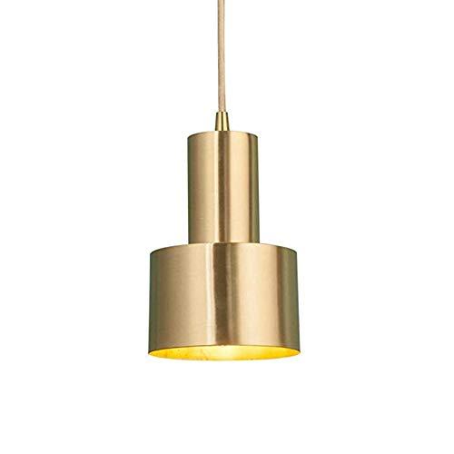 Hobaca® E27 Oro Cobre Hierro de lujo Lámpara colgante nórdica moderna LED Lámpara colgante Lámparas para las luces del sitio de la cocina de la isla de la cocina