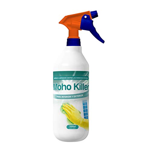 Spray Limpia Moho 1 Litro para paredes, juntas, azulejos, baldosas,...