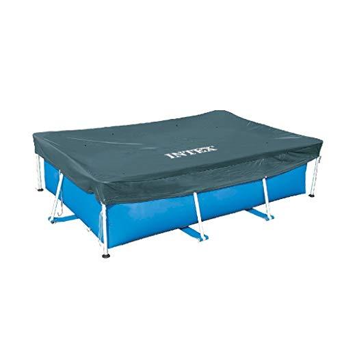 Intex 28038 - Cobertor piscina rectangular Prisma/small frame 300 x 200 cm