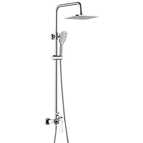 Auralum Columna de ducha con grifo Monomando, Set de ducha Completo...
