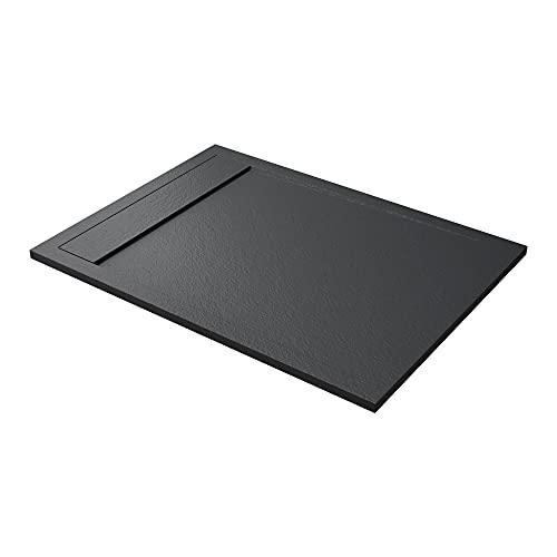 Mai & Mai Plato de ducha plano rectangular 90x140x3cm en antracita de...