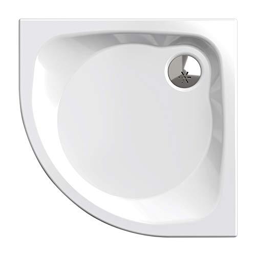 Plato de ducha, círculo cuarto 90 x 90 cm | Nordona® SIMPLEX PLUS |...