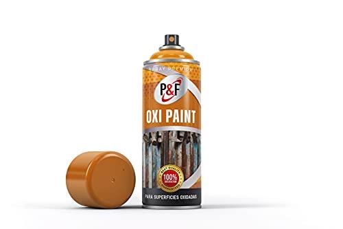 Pintura antioxidante OXIPAINT en spray para metal. P&F/Uso directo/NO...