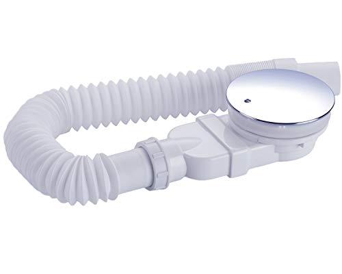 IMPTS Juego de desagüe extraplano para ducha de 90 mm, orificio de...