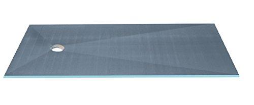 Plato Fundo Primo rectangular, desagüe excentrado, 1200 x 900 x 40...
