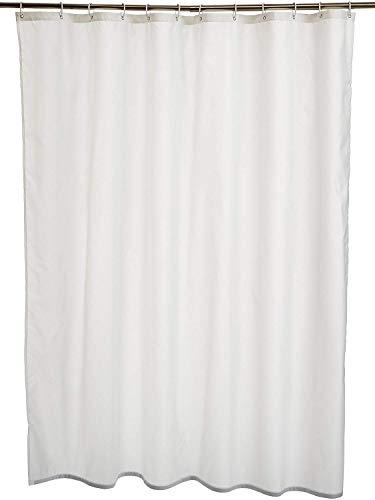 Amazon Basics - Cortina de ducha de poliéster (180 x 180 cm), color...