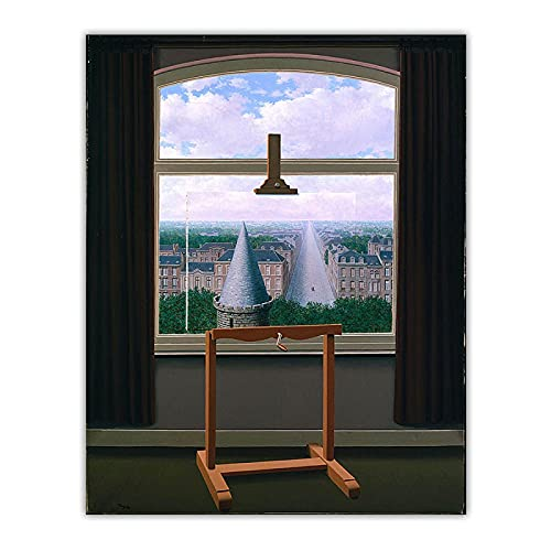 Cuadro en lienzo Rene Magritte'Los paseos de Euclides, 1955'...