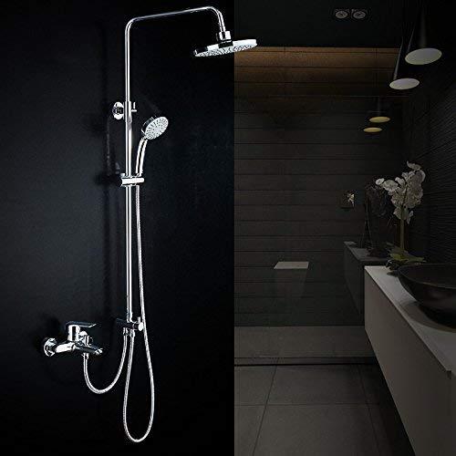 BXU-BG Juego de ducha dividida, columna de ducha tres, grifo de baño...