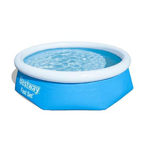 Bestway FastSet Pool Set Piscina Desmontable Autoportante, 244x66 cm
