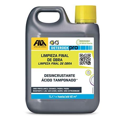 FILA Surface Care Solutions Deterdek Detergente desincrustante ácido,...