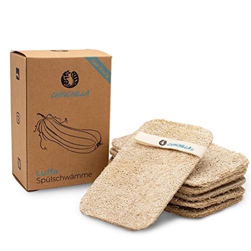 Chinchilla® 6 esponjas de lufa para la cocina   Esponjas para platos...