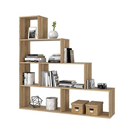 Habitdesign Estantería Decorativa, Librería Salon, Modelo Klum,...