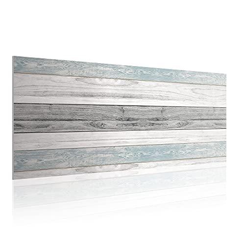 Cabecero para Cama de 150 cm, Imitación Madera, PVC Estampado, 160 x...