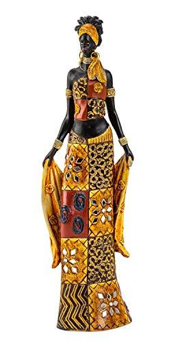 Lifestyle & More Escultura Moderna decoración Figura Mujer Africana...