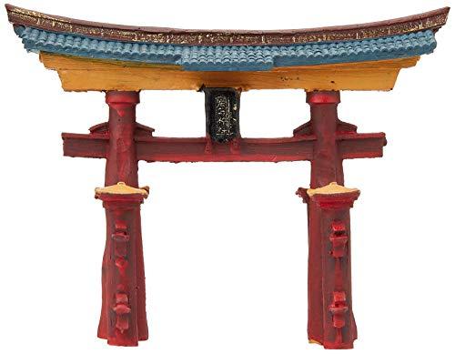 Rosewood Ornamento japonés de la Puerta de Torii