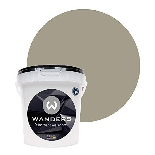 Wanders24 Pintura de pared pintura de pizarra mate (1 litro, Topo...