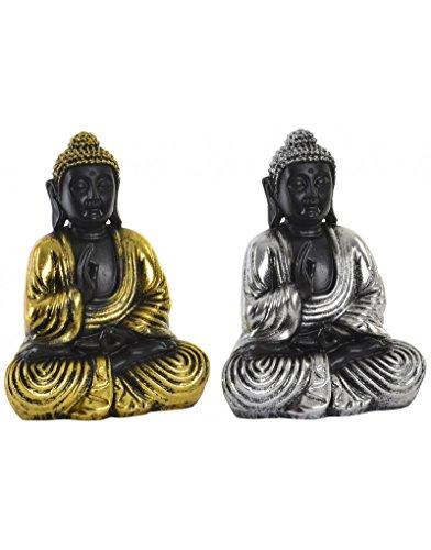 Figura de Buda para decoración - Diseño Oriental - WABI Sabi - Estilo Zen - Hogar y más - B
