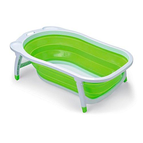 Bañera Plegable Bebe Aqua. Plegado ultra compacto.