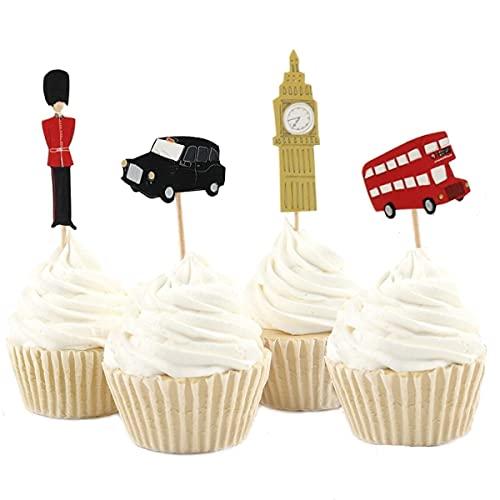 Decoración de cumpleaños Londres, pasteles de cumpleaños inglés,...