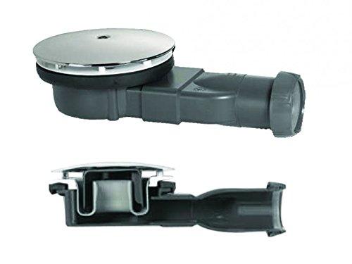 Wirquin Trampa para ducha de perfil extrafina de 4 cm, 90 mm, 33,6...