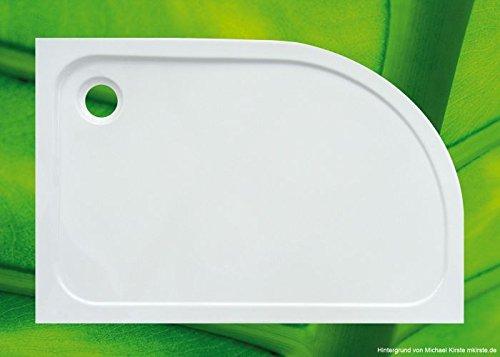 Plato de ducha de cuarto de círculo de 120 x 80 ducha piscina 120 x...