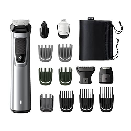 Philips MG7720/15 Recortadora 14 en 1 Maquina recortadora de barba y...