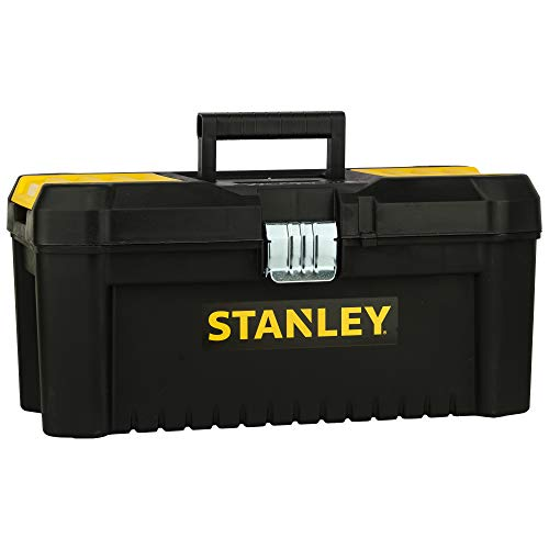 STANLEY STST1-75518 - Caja de herramientas de plastico con cierre metálico, 20 x 19.5 x 41 cm