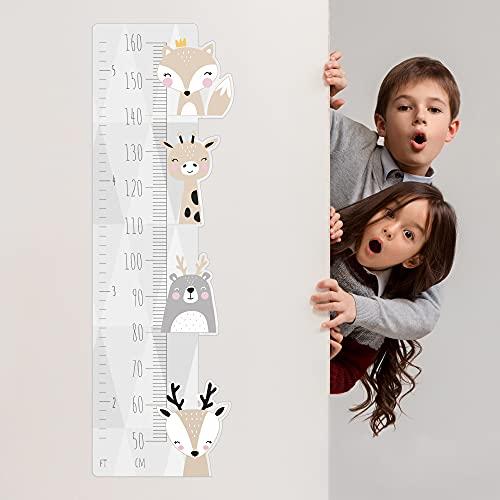 Medida decorativa de altura para niños - estilo minimalista...