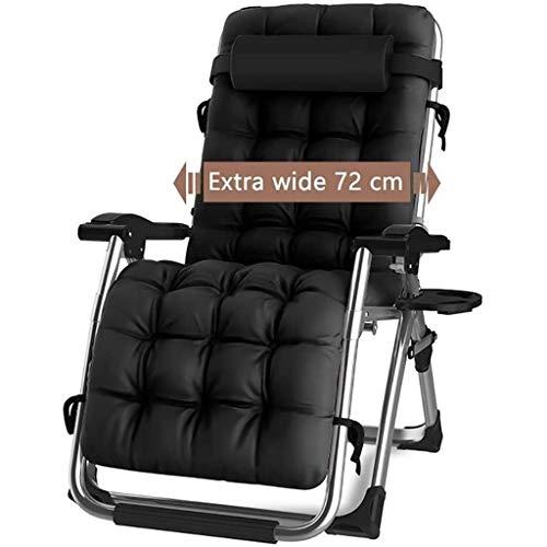 DQCHAIR Silla reclinable para Actividades al Aire Libre con Gravedad...