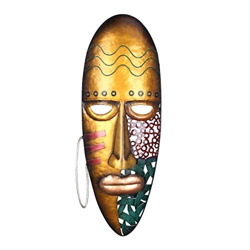 Lechnical Máscara Africana Arte Colgante de Pared Máscara de Hierro...