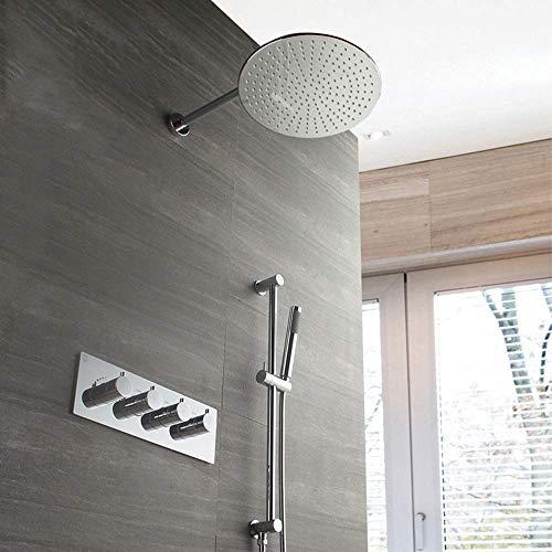 MZXUN Montado en la pared de la ducha termostática de cobre grifo de...