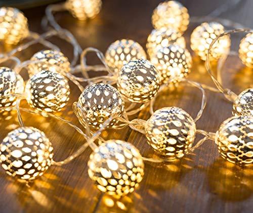 CozyHome - Guirnalda luces LEDs decorativa de estilo oriental | 7 m +...