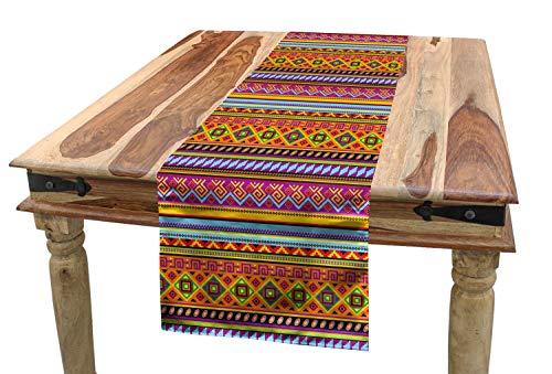 ABAKUHAUS Mexicano Camino de Mesa, Folk geométrica de la Vendimia,...