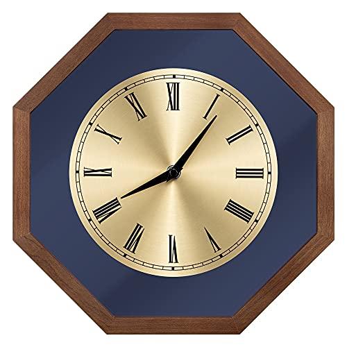 Navaris Reloj de Pared Vintage - Reloj Decorativo de Madera Estilo...