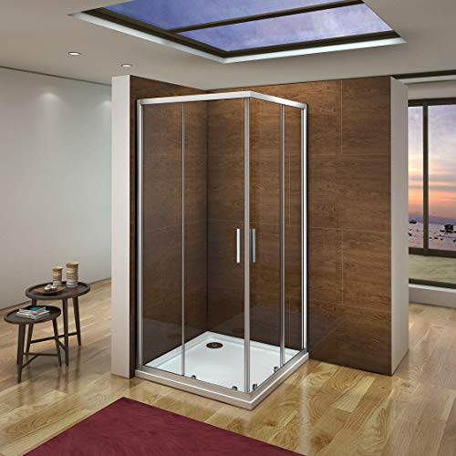 Mampara de Ducha Angular cabina de ducha mampara de ducha cuadrada...