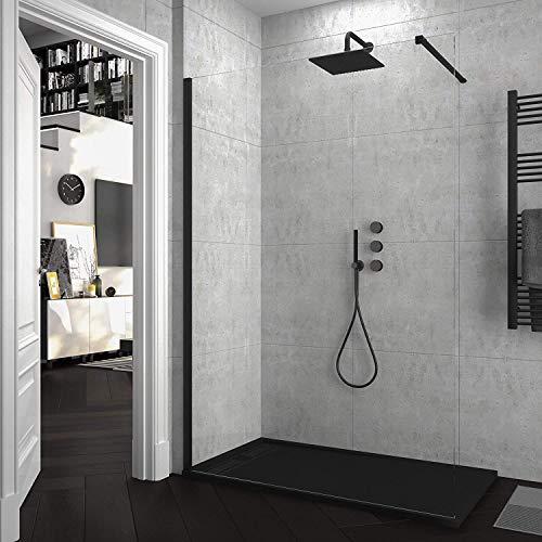 Mampara de ducha FIJA VAROBATH - Vidrio 8MM - Tratamiento antical...