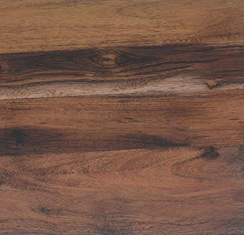 Lámina adhesiva Madera rústica de roble, lámina decorativa, lámina para muebles, lámina autoadhesiva, aspecto madera natural, 67,5cm x 3m, grosor: 0,095 mm, Venilia 53170