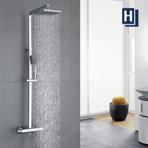HOMELODY 40℃ Conjunto de Ducha Termostática Columna de ducha...