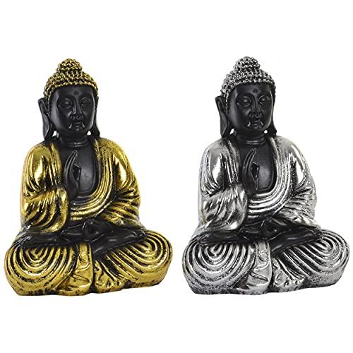 Figura de Buda Decorativo para Interior o Exterior. Diseño Zen - WABI...