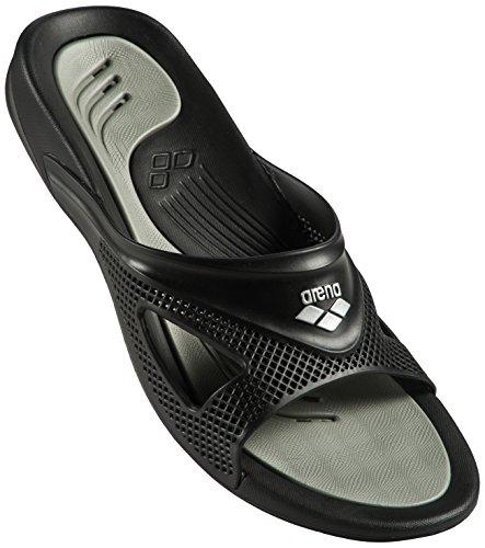 Arena Hydrofit Man Hook Zapatos de Playa y Piscina, Hombre, Negro...